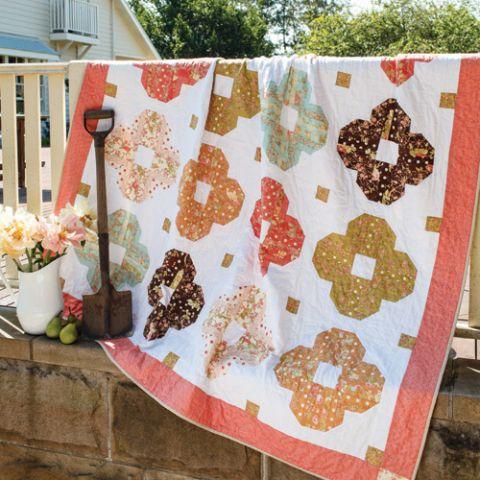 Tiffany's Flower Quilt