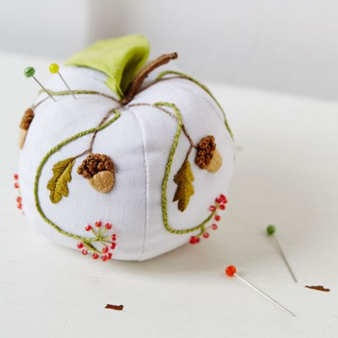 From Tiny Acorns Pincushion