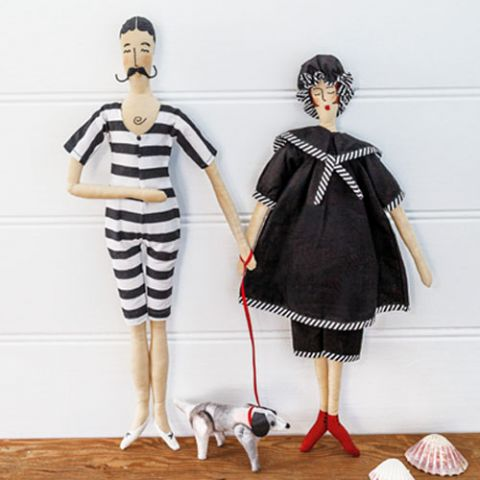 Victoriana Bathers Dolls