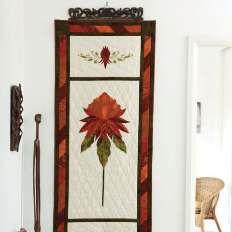 Waratah Welcome Wall Hanging