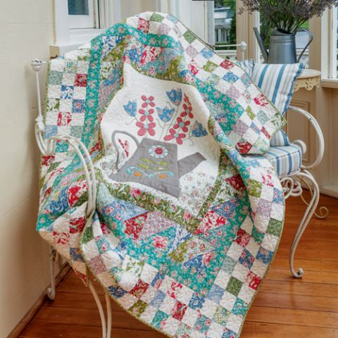 The Watering Can Quilt