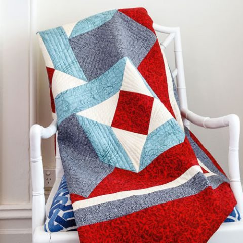 styled shot of whitby quilt