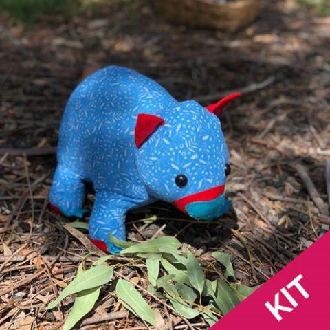 KIT: Wodger the Wombat Softie